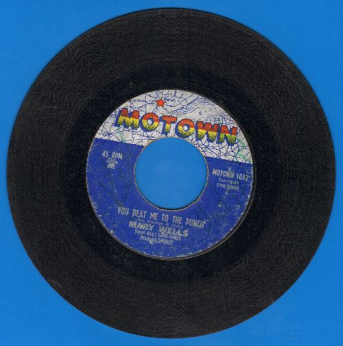 Wells, Mary - You Beat Me To The Punch/Old Love (wol) - VG6/ - 45 rpm Records