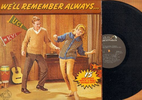 Four Lads, Santo & Johnny, Jamies, Shirelles, others - We'll Remember Always…: Sleep Walk, At The Hop, Summertime Summertime, Theme From A Summer Place, Soldier Boy (vinyl STEREO LP record, 1982 issue of vintage recordings) - NM9/EX8 - LP Records