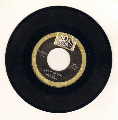 Wells, Mary - Ain't It The Truth/Stop Takin' Me For Granted  - VG7/ - 45 rpm Records