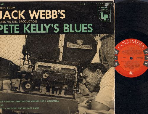 Heindorf, Ray & Warner Brothers Orchestra & Chorus - Music From Jack Webb's Pete Kelly's Blues (vinyl MONO LP record, red label, 6 white eyes) - EX8/VG7 - LP Records