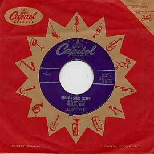 West, Speedy with Jimmy Bryant - Georgia Steel Guitar/Midnight Ramble (with vintage Capitol company sleeve) - VG7/ - 45 rpm Records