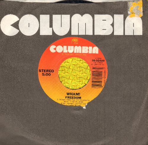 Wham! - Wham!/Heartbeat (with Columbia company sleeve) - EX8/ - 45 rpm Records