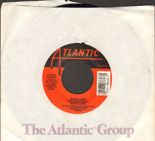 White Lion - Radar Love/If My Mind Is Evil (with Atlantic company sleeve) - NM9/ - 45 rpm Records