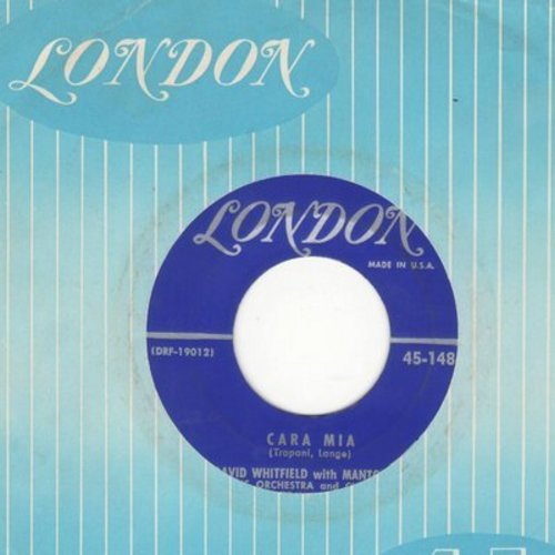 Whitfield, David - Cara Mia/How, When Or Where (with vintage London company sleeve) - VG6/ - 45 rpm Records