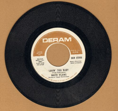 White Plains - Lovin' You Baby/Noises (In My Head) - EX8/ - 45 rpm Records