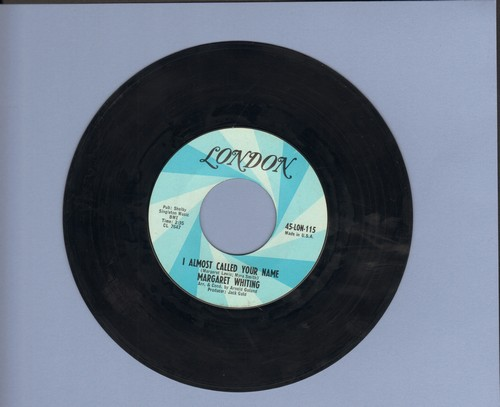 Whiting, Margaret - I Almost Called Your Name/Let's Pretend - NM9/ - 45 rpm Records