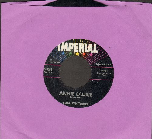 Whitman, Slim - Annie Laurie/Valley Of Tears - NM9/ - 45 rpm Records