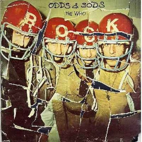 Who - Odds & Sods: Postcard, Now I'm A Farmer, Put The Money Down, Pure And Easy, Naked Eye, Long Live Rock (vinyl LP record, 1974 first issue) - EX8/VG7 - LP Records
