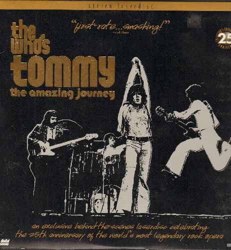 Who - The Who's Tommy, The Amazing Journey - STEREO LASER DISC - 25th Anniversary Anniversary  Collector's Edition, Digital Sound! - NM9/NM9 - Laser Discs