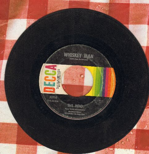Who - Happy Jack/Whiskey Man - VG6/ - 45 rpm Records