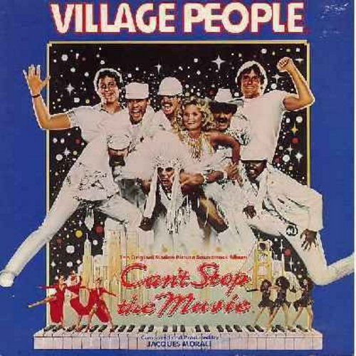 Village People - Can't Stop The Music - Original Motion Picture Sound Track featuring Title song and Y.M.C.A. by The Village People, Give Me A Break and Sophistication (by Ritchie Family) - vinyl STEREO LP record, gatefold cover) - NM9/EX8 - LP Records
