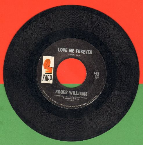 Williams, Rogers - Love Me Forever/Sweet Pea - NM9/ - 45 rpm Records