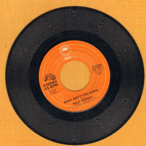 Wild Cherry - Get It Up/Baby Don't You Know - VG7/ - 45 rpm Records