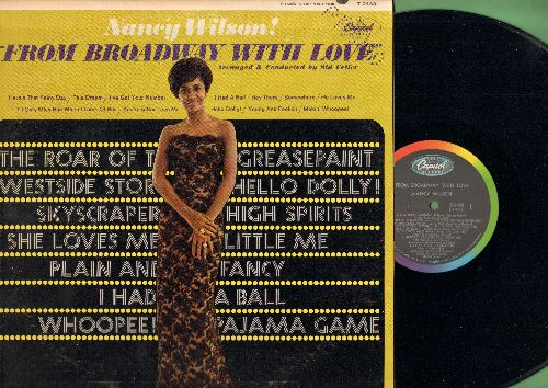 Wilson, Nancy - Nancy Wilson! - From Broadway With Love: Hey There, Hello Dolly, Makin' Whoopee, Somewhere, I've Got Your Number (vinyl MONO LP record, PROMO hole-punch in upper right corner of cover) - NM9/VG7 - LP Records
