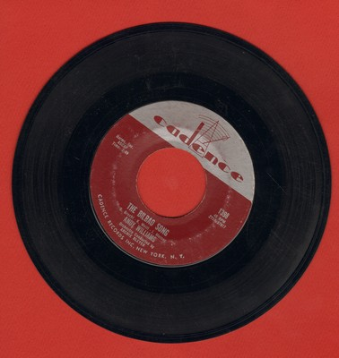 Williams, Andy - The Bilbao Song (from -Three Penny Opera-)/How Wonderful To Know - EX8/ - 45 rpm Records