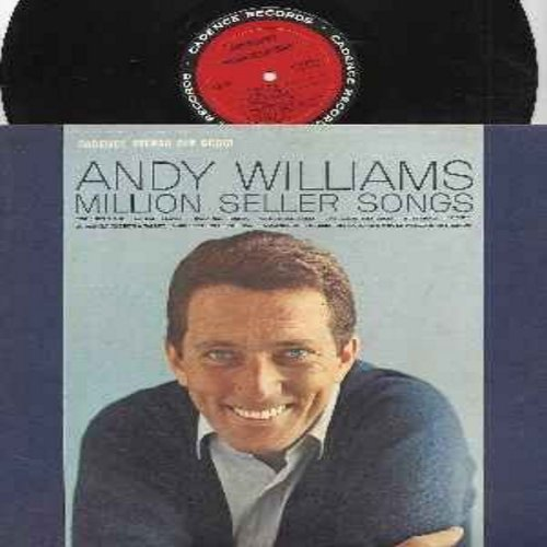 Williams, Andy - Million Seller Songs: It's All In The Game, Butterfly, So Rare, Twilight Time, Canadian Sunset, The Three Bells (vinyl STEREO LP record) - M10/EX8 - LP Records