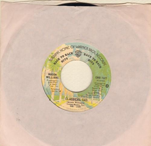 Williams, Mason - Classical Gas/Baroque-A-Nova (double-hit re-issue) - VG7/ - 45 rpm Records