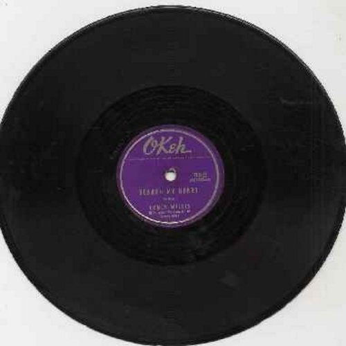 Willis, Chuck - Search My Heart/Ring Ding Doo (RARE vintage 10 inch 78 rpm record, shipping same as LP) - VG6/ - 78 rpm
