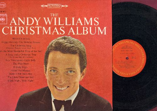 Williams, Andy - The Andy Williams Christmas Album: White Christmas, The First Noel, It's The Most Wonderful Time Of The Year, The Christmas Song (vinyl STEREO LP record) - VG7/NM9 - LP Records
