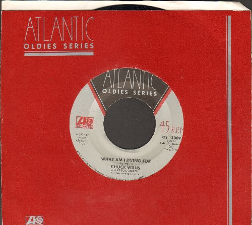 Willis, Chuck - What Am I Living For/Hang Up My Rock And Roll Shoes (MINT condition re-issue with Atlantic company sleeve) - M10/ - 45 rpm Records