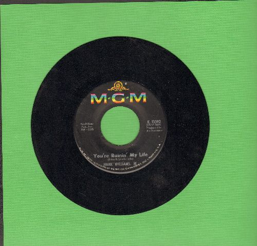 Williams, Hank Jr. - You're Ruining My Life/Pecos Jail - NM9/ - 45 rpm Records