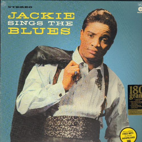Wilson, Jackie - Jackie Sings The Blues: Doggin' Around, One Kiss, She Done Me Wrong, Come On And Love Me Baby  (180 gram Virgin Vinyl re-issue, EU Pressing, SEALED, never opened!) - SEALED/SEALED - LP Records