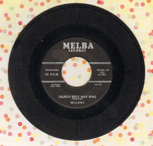 Willows - Church Bells May Ring/Baby Tell Me (wol) - VG6/ - 45 rpm Records