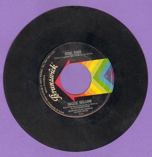 Wilson, Jackie - Soul Time/Danny Boy (sol) - EX8/ - 45 rpm Records