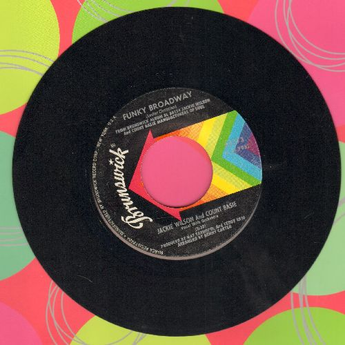 Wilson, Jackie & Count Basie - Chain Gang/Funky Broadway - NM9/ - 45 rpm Records