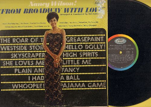 Wilson, Nancy - From Broadway With Love: Hey There, Somewhere, Hello Dolly!, Makin' Whoopee!, Here's That Rainy Day (vinyl MONO LP record, Promo pressing) - VG7/VG7 - LP Records