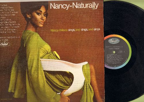 Wilson, Nancy - Nancy-Naturally: Since I Fell For You, Just For A Thrill, Ain't That Lovin' You (vinyl MONO LP record) - M10/VG7 - LP Records