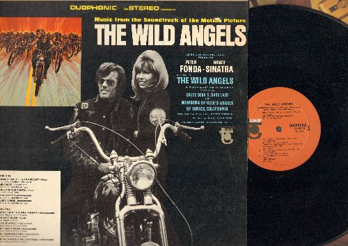 Wild Angels - The Wild Angels - Original Motion Picture Sound Track, featuring songs by The Visitors, The Hands On Time as well as Instrumentals by Davie Allan & The Arrows (vinyl STEREO LP record) - NM9/EX8 - LP Records