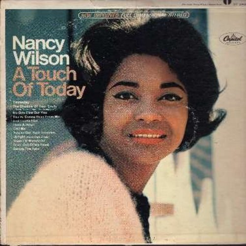 Wilson, Nancy - A Touch Of Today: Yesterday, Uptight (Everything's Alright), Call Me,You've Got Your Troubles, And I Love Him (vinyl STEREO LP record) - EX8/VG7 - LP Records