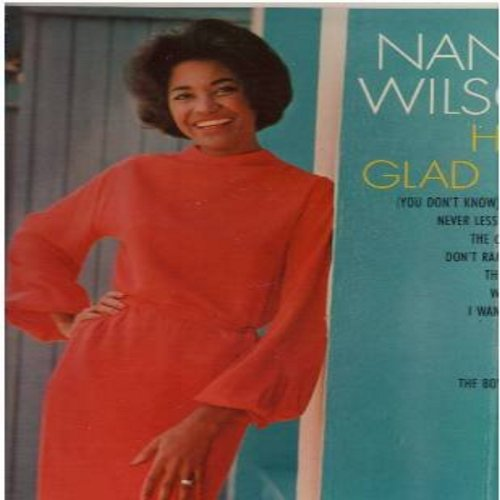 Wilson, Nancy - How Glad I Am: Never Less Than Yesterday, People, The Boy From Ipanema, Don't Rain On My Parade (vinyl MONO LP record) - NM9/NM9 - LP Records