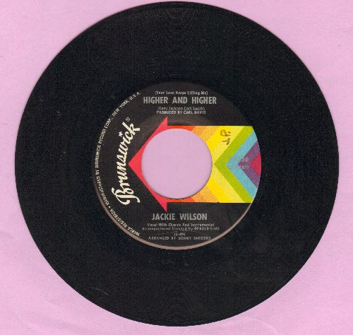 Wilson, Jackie - (Your Love Is Lifting Me) Higher And Higher/I'm The One To Do It - VG7/ - 45 rpm Records