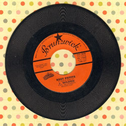 Wilson, Jackie - Reet Petite/Lonely Teardrops (double-hit re-issue) - NM9/ - 45 rpm Records