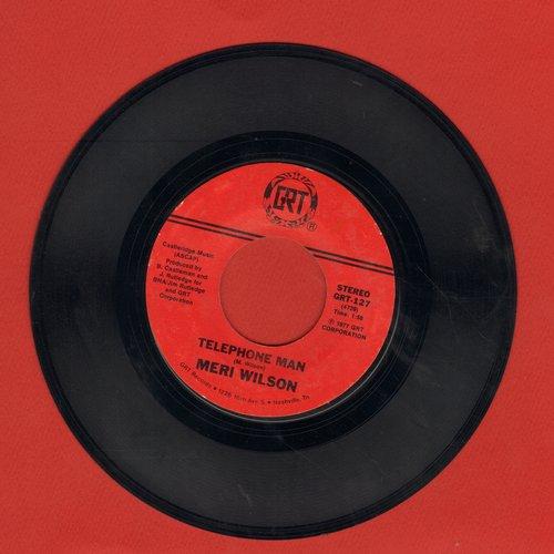 Wilson, Meri - Telephone Man/Itinerary - EX8/ - 45 rpm Records