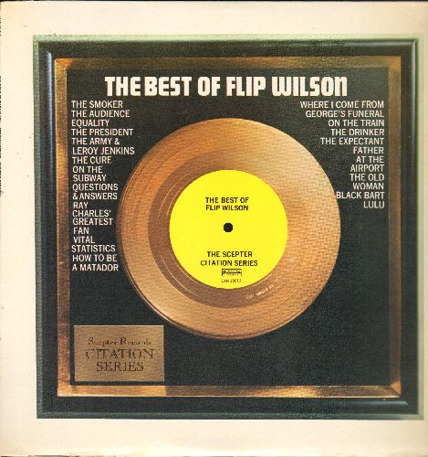 Wilson, Flip - The Best Of Flip Wilson (vinyl STEREO LP record) - NM9/EX8 - LP Records