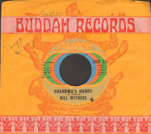 Withers, Bill - Grandma's Hands/Sweet Wanomi (with company sleeve) - EX8/ - 45 rpm Records