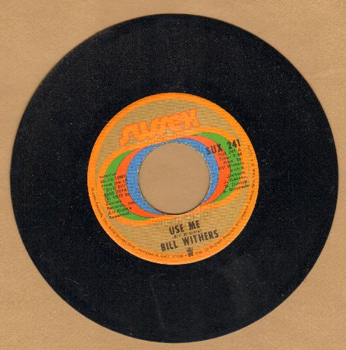 Withers, Bill - Use Me/Let Me In Your Life - NM9/ - 45 rpm Records