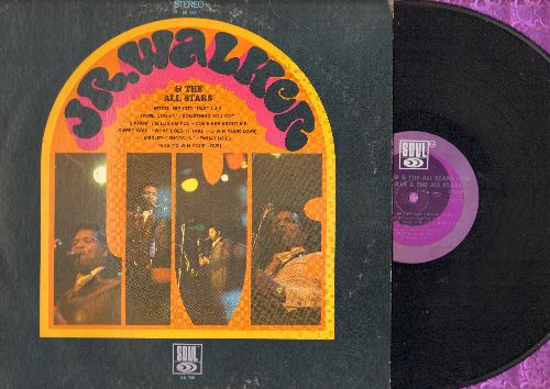 Walker, Jr. & The All Stars - Jr. Walker & The All Stars LIVE: Hip City, Sweet Soul, Come See About Me, Home Cookin' (vinyl STEREO LP record) - EX8/VG7 - LP Records