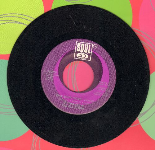 Walker, Jr. & The All Stars - Way Back Home/ Way Back Home (Instrumental) - NM9/ - 45 rpm Records