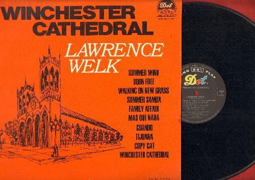 Welk, Lawrence  - Winchester Cathedral: Born Free, Summer Samba, Family Affair, Tijuana, Summer Wind (vinyl MONO LP record) - NM9/EX8 - LP Records