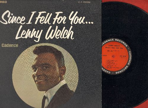 Welch, Lenny - Since I Fell For You: Stranger In Paradise, You Don't Know Me, I'm In The Mood For Love, You Can Have Her (vinyl STEREO LP record) - EX8/NM9 - LP Records