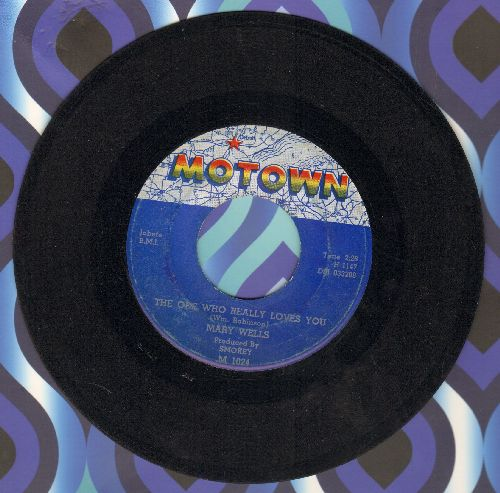 Wells, Mary - The One Who Really Loves You/I'm Gonna Stay - EX8/ - 45 rpm Records