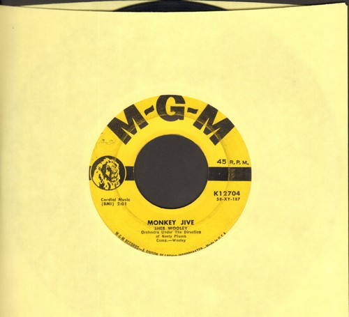 Wooley, Sheb - Monkey Jive/The Chase - VG6/ - 45 rpm Records