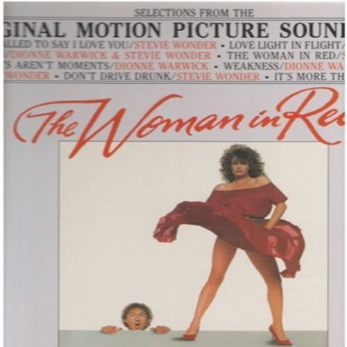 Wonder, Stevie, Dionne Warwick - The Woman In Red - Original Motion Picture Sound Track featuring the hit -I Just Called To Say I Love You- (vinyl STEREO LP record, gate-fold cover with song lyrics on inside!) - NM9/EX8 - LP Records