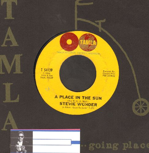 Wonder, Stevie - A Place In The Sun/Sylvia (with Tamla company sleeve) - EX8/ - 45 rpm Records
