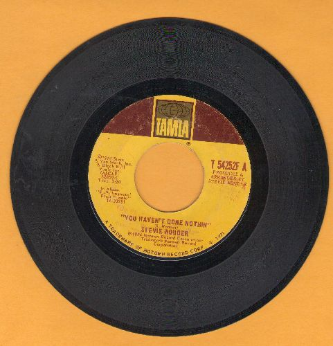 Wonder, Stevie - Big Brother/You Haven't Done Nothing  - VG7/ - 45 rpm Records