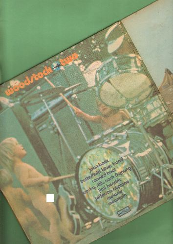 Woodstock - Woodstock Two: Three Days Of Peace And Music (2 vinyl STEREO LP records, gate-fold cover) - NM9/VG7 - LP Records